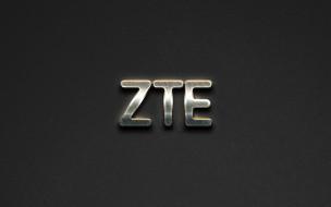 zte, бренды, - другое, серый, стальное, искусство, смартфоны, логотип, креативное, каменный, фон, стальной, эмблемы