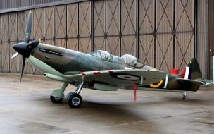 supermarine, spitfire, британский, учебно-тренировочный самолет