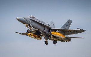 истребитель, бомбардировщик, mcdonnell douglas, fa-18 hornet