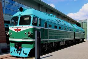 музей, локомотив, Тепловоз