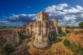coca castle, города, замки испании, простор