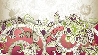 векторная графика, цветы , flowers, цвет, фон, узор