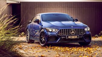 mercedes-amg, coupe, 2019, мерседес, s 4matic, 4-door, синий, gt 63