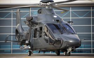 военные вертолеты, аэродром, вмс франции, airbus h160m guepard, h160m, airbus helicopters, французский боевой вертолет, противокорабельная ракета sea venom