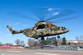 вертушка, вертолёт, лопасти, МИ- 26