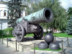 Царь- Пушка, Кремль, Россия, Москва, памятник