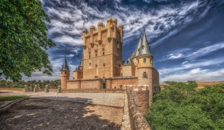 alcazar, города, замки испании, простор
