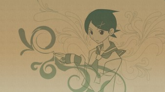 форма, девочка, рисунок