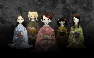 девочки, кимоно