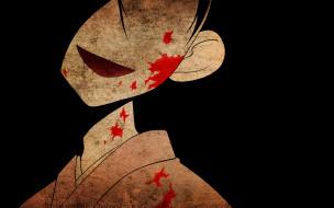 кровь, кимоно, девочка
