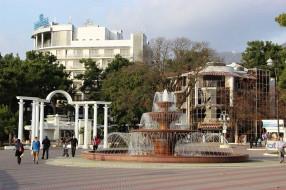 города, - фонтаны, фонтан, город