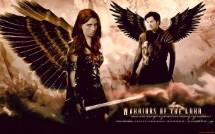 женщина, мужчина, оружие, крылья, 2019, calendar, девушка