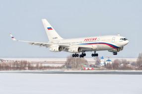 полоса, аэродром, Россия, ИЛ- 96, самолёт