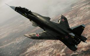 военная авиация, беркут, су47, небо, истребитель