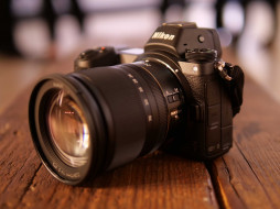 nikon z6, бренды, nikon, черный, камера, фотоаппарат