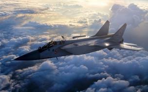 боевая авиация, ввс россии, истребитель, перехватчик, миг31