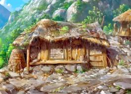 постройка, дом, calendar, 2019, хижина, природа, гора