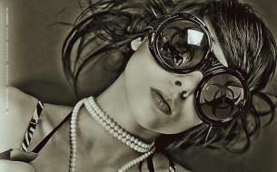 лицо, женщина, calendar, девушка, бусы, очки, 2019