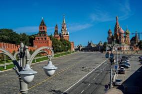 Собор, Василия, Блаженного, Москва, город, Кремль, Россия