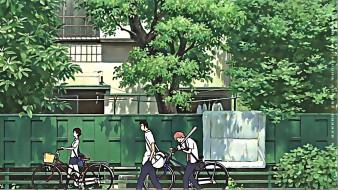 юноша, девушка, улица, дом, стена, calendar, 2019, велосипед