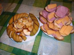 обои для рабочего стола 2164x1623 еда, бутерброды,  гамбургеры,  канапе, бананы, яблоки, сыр, колбаса, хлеб
