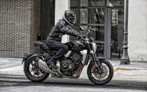 новый, черный, японские мотоциклы, профиль, вид сбоку, экстерьер, 2019, cb1000r, honda