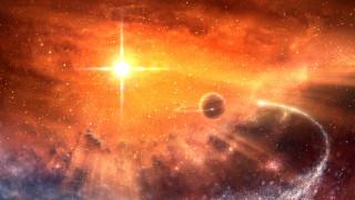 космос, арт, галактика, вселенная, планеты, звезды