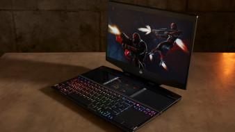 hp omen x 2s, поддержка двух дисплеев, революционный дизайн, ноутбук, rtx 2080, max-q2, nvidia, geforce