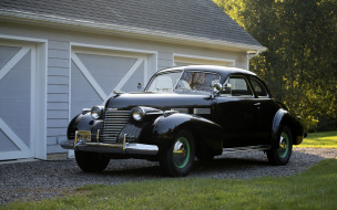 сadillac sixth-two coupe, 1940, черный, ретро, купе, классические автомобили, ретро автомобили
