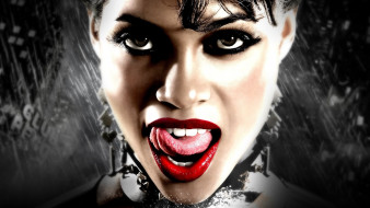 дождь, язык, лицо, Гейл