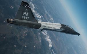 northrop, t-38, talon, сверхзвуковой, учебный самолет, американский, военно-воздушные силы сша