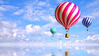 авиация, воздушные шары дирижабли, шары, воздушные, небо, простор, полет