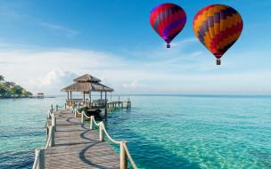 авиация, воздушные шары дирижабли, шар, воздушный, полет, небо, простор
