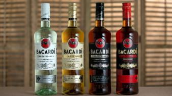 бренды, bacardi, ром