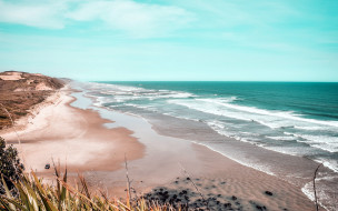 природа, побережье, море, вода