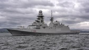 корабли, фрегаты,  корветы, вмф, fremm, carlo bergamini, f590