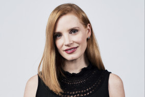 актриса, лицо, улыбка, рыжая