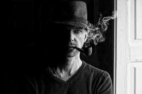 дым, шляпа, трубка