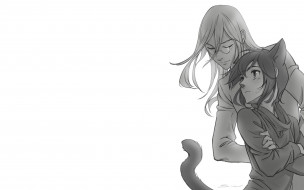 аниме, loveless, хвост, аояги, рицка, соби, агатсума, ушки
