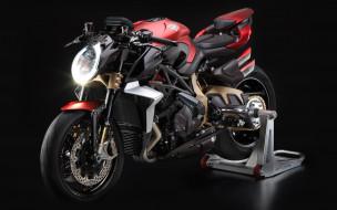 2019 mv agusta brutale 800, мотоциклы, mv agusta, 2019, вид, спереди, красный, черный, спортивный, мотоцикл, итальянские