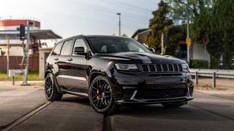 тюнинг, 2019, gc 800, manhart, jeep, черный