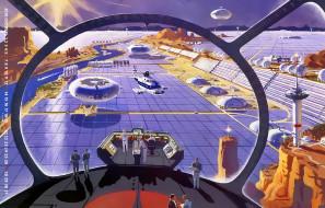 планета, космос, вертолет, звездолет, космодром, calendar, 2019