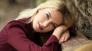блондинка, портрет, лицо, красотка, взгляд, поза, актриса, модель, девушка, Eva Mikulski