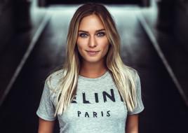 взгляд, поза, актриса, модель, девушка, Eva Mikulski, портрет, лицо, красотка, блондинка