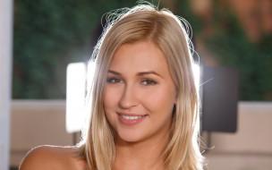 портрет, лицо, Tracy Delicious, девушка, модель, блондинка, Playboy, взгляд, макияж