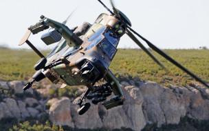ударный вертолет, современный, ввс франции, tiger, eurocopter, tiger hap, военные вертолеты, airbus helicopters