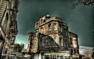 города, стамбул , турция, здание
