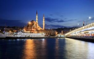 города, стамбул , турция, мечеть