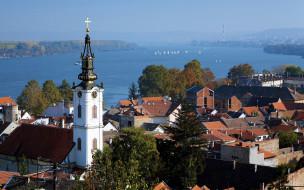 города, белград , сербия, панорама