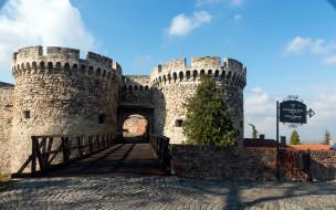 города, белград , сербия, крепость